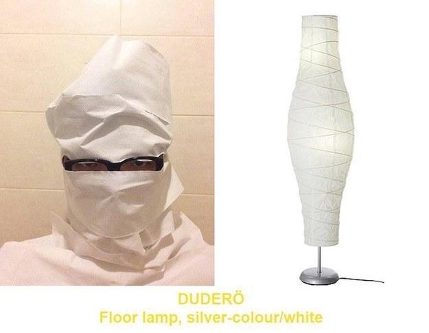 IKEA dress like product Branding in Asia1