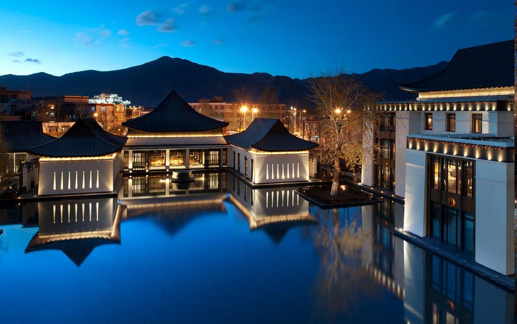 Lhasa St Regis luxury hotel
