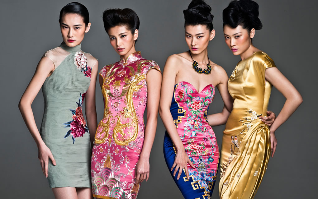 chinese fashion sexy traditional