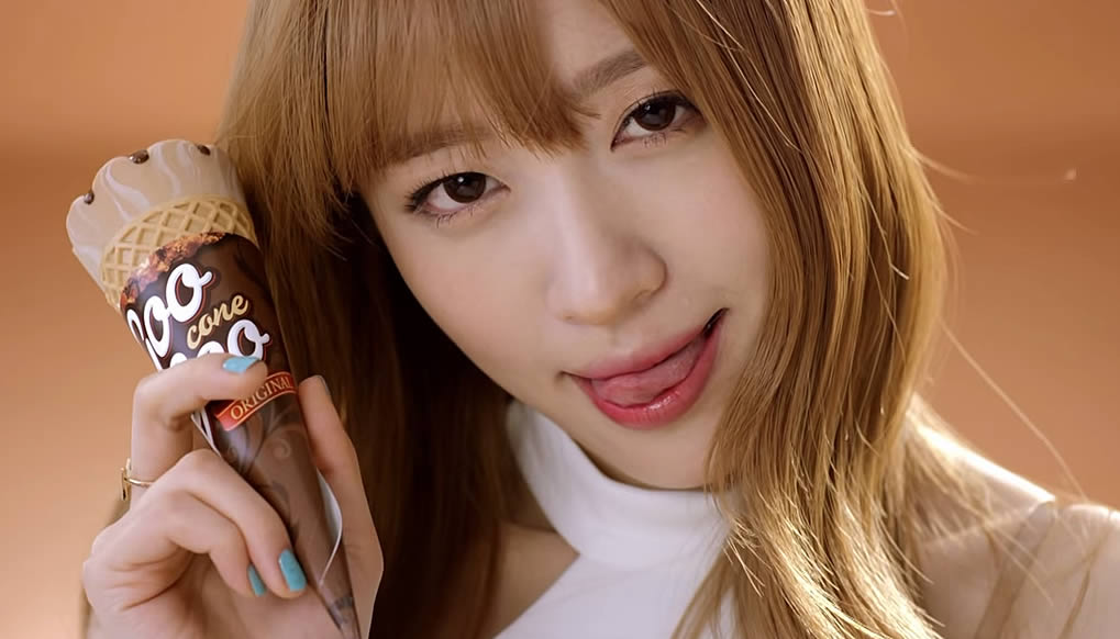 Lotte Korea Takes it up a Notch with More Sexy Ice Cream Ads