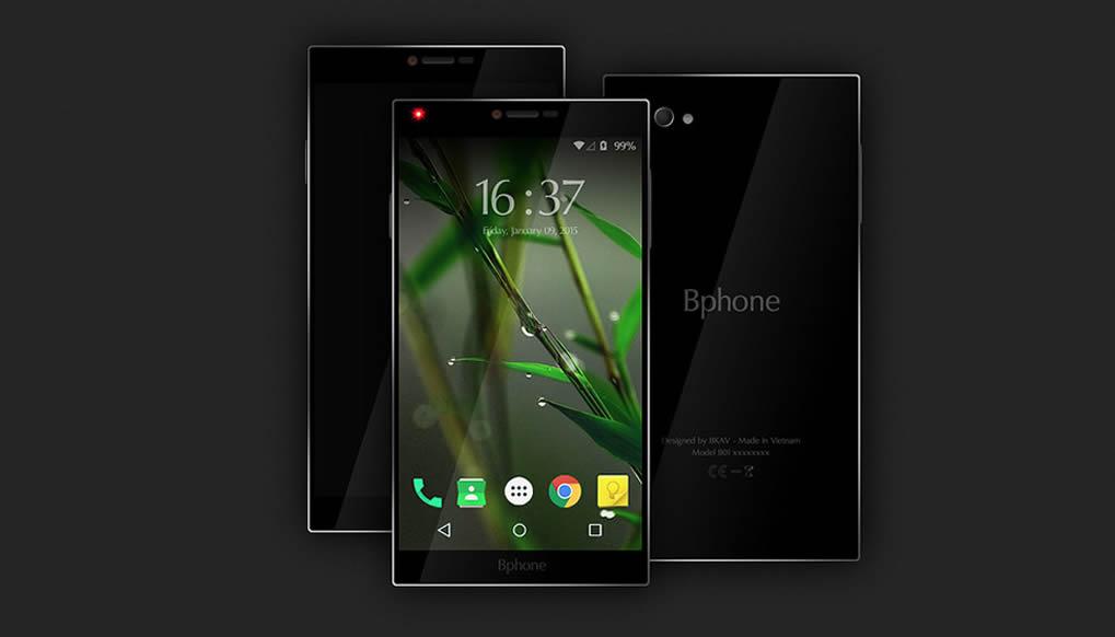 Vietnam Bphone Bkav first smartphone
