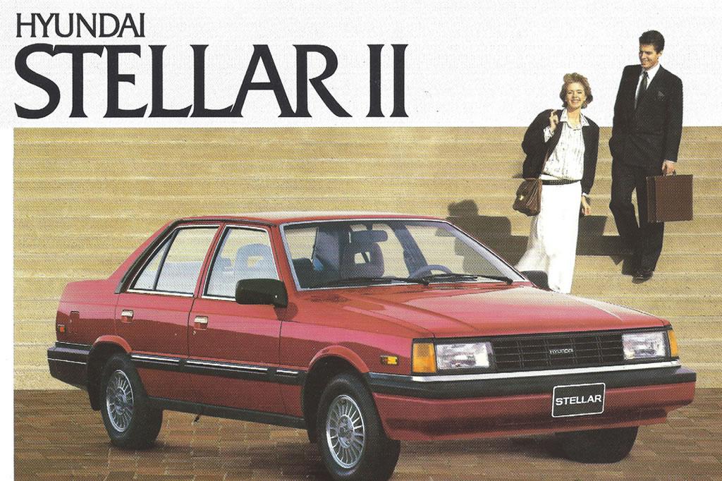 Classic Hyundai Advertisement