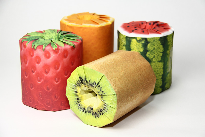 Fruit Toilet paper