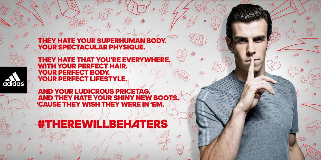 Viva Sillón éxito  Adidas Malaysia says 'There Will Be Haters' Campaign a Success | Branding  in Asia Magazine