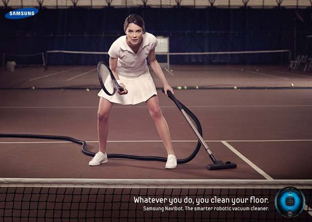 Samsung's Vacuum Division Has Had Some Fun Ads Over the Years