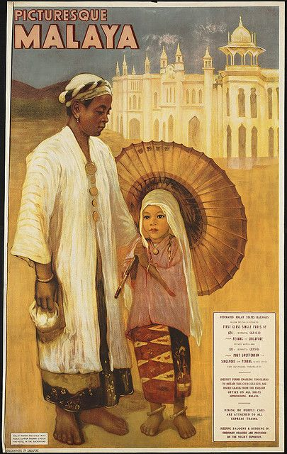 Vintage Malaysia Travel Posters - Branding in Asia 2