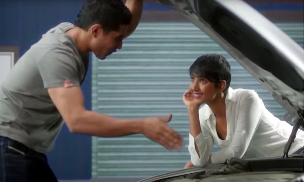 Pretty Indian Woman and Man car Repair Nivea - Branding in Asia Magazine