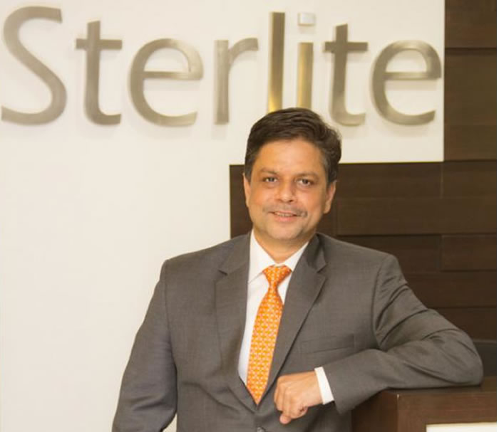 Sterlite Technologies Anand Agarwal CEO