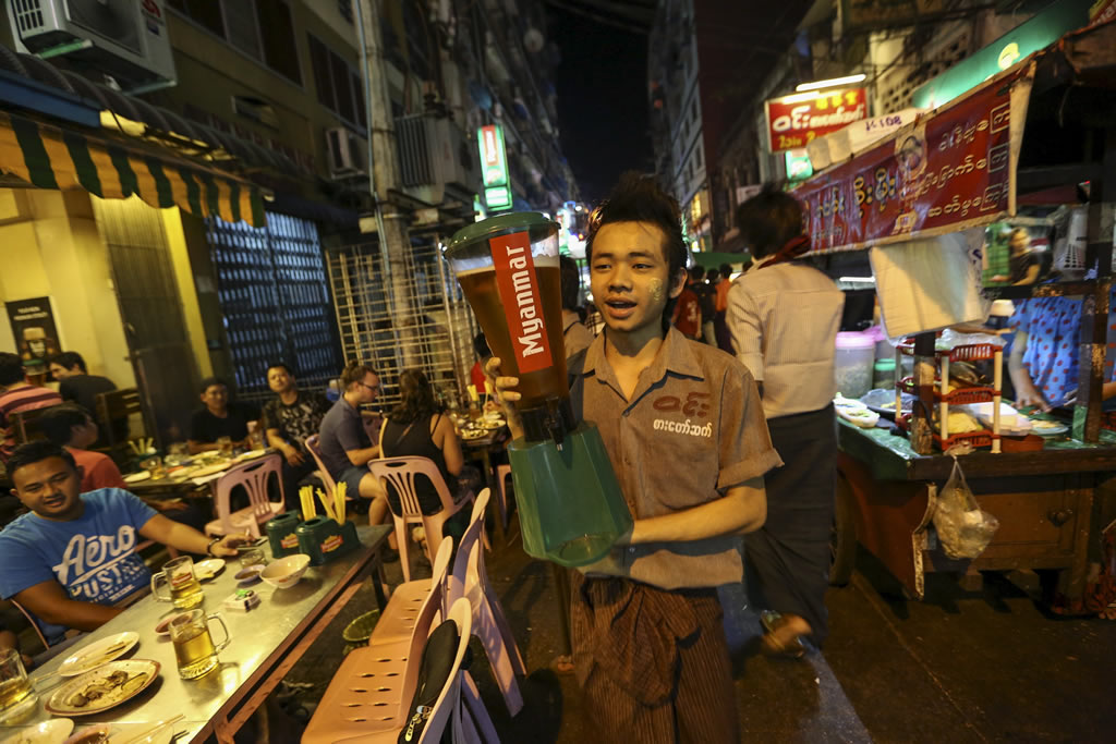 Myanmar Beer – Fighting the Foreign Invasion