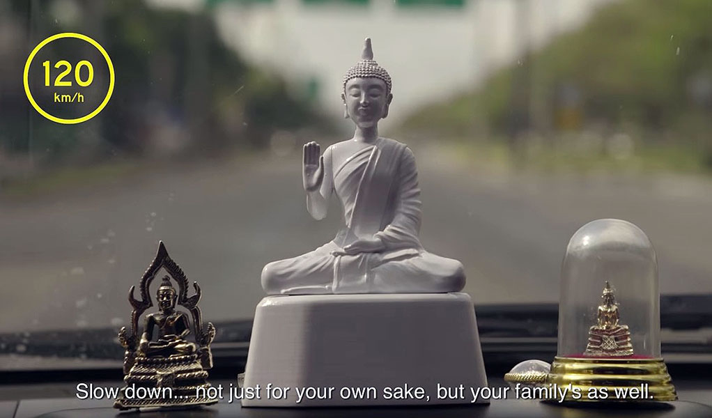 Speed Limit Monk Uses Buddhism and Technology to Keep Drivers Mindful