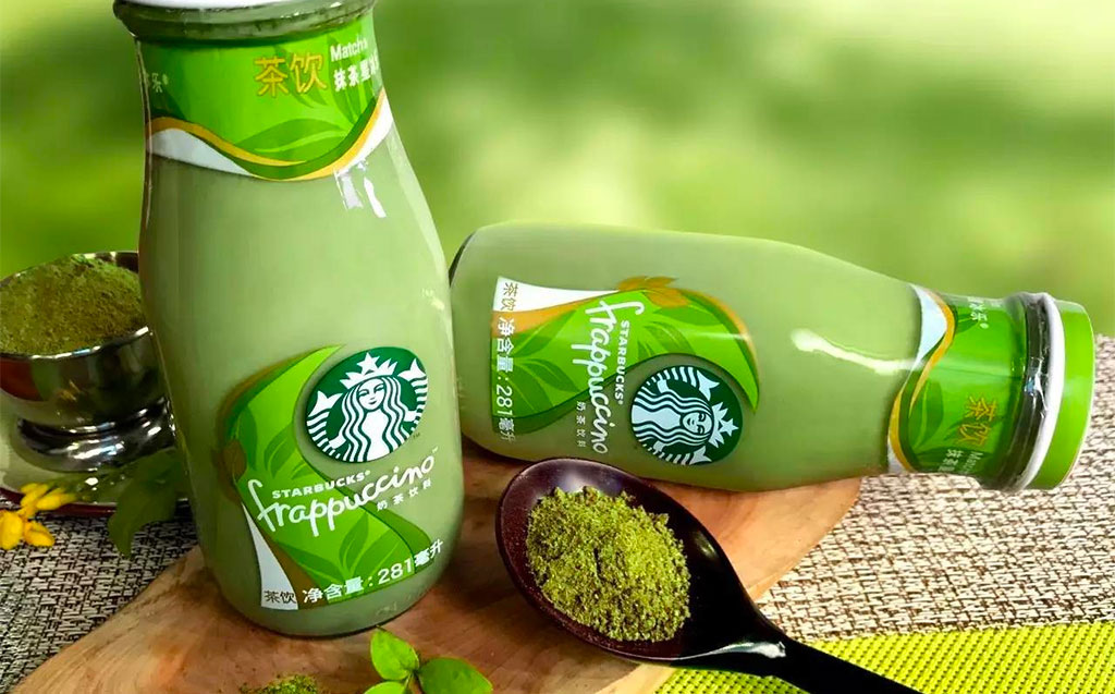 Starbucks Launches Bottled Green Tea and Black Tea Frappuccino in China