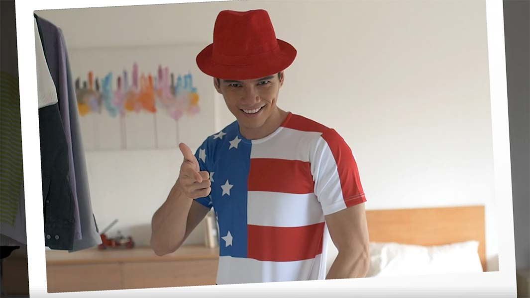 EVA Airways Campaign Calls on Malaysians to do 'Malaysian' Things in an 'American' Way