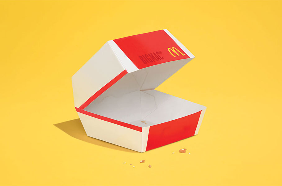 McDonald's Takes Minimalism to its Logical Conclusion in New Ad Campaign