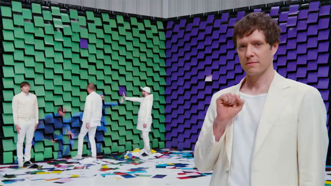 You' ll Never Look at Paper the Same Way Again Thanks to OK Go and Double A