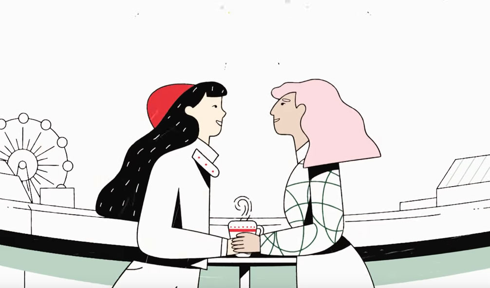 Starbucks Seasonal Cup Campaign Features Same-Sex and Mixed Race Couples