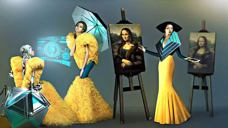 Myanmar Fashion Designer Charlotte Barjou Partners with MultiVerse Advertising