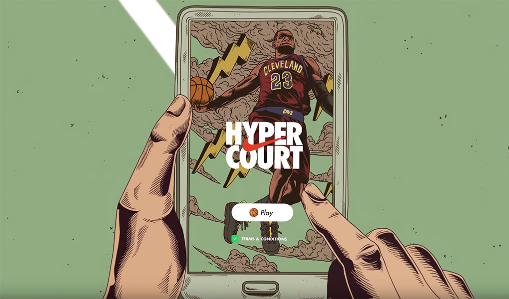 Nike Launches Nike Hyper Court in The Philippines, Powered by Google
