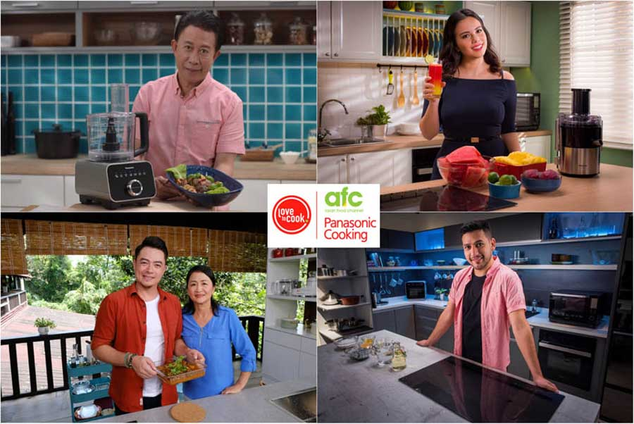 Panasonic Branded Content Uses Celebrity Chefs to Encourage Home Cooking
