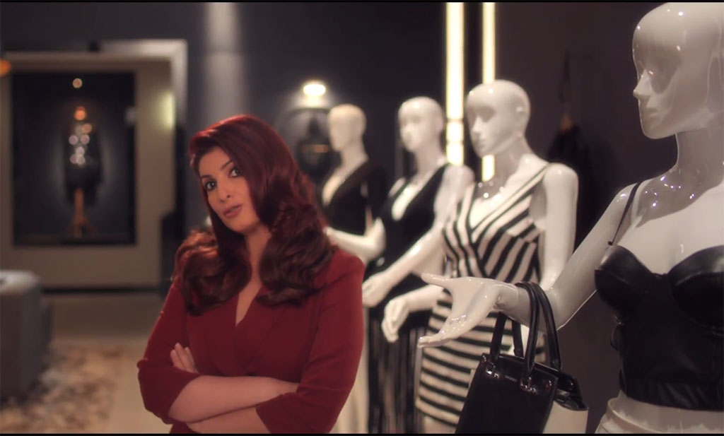 Twinkle Khanna Redefines 'Six Pack' and 'Size Zero' in Cookie Campaign