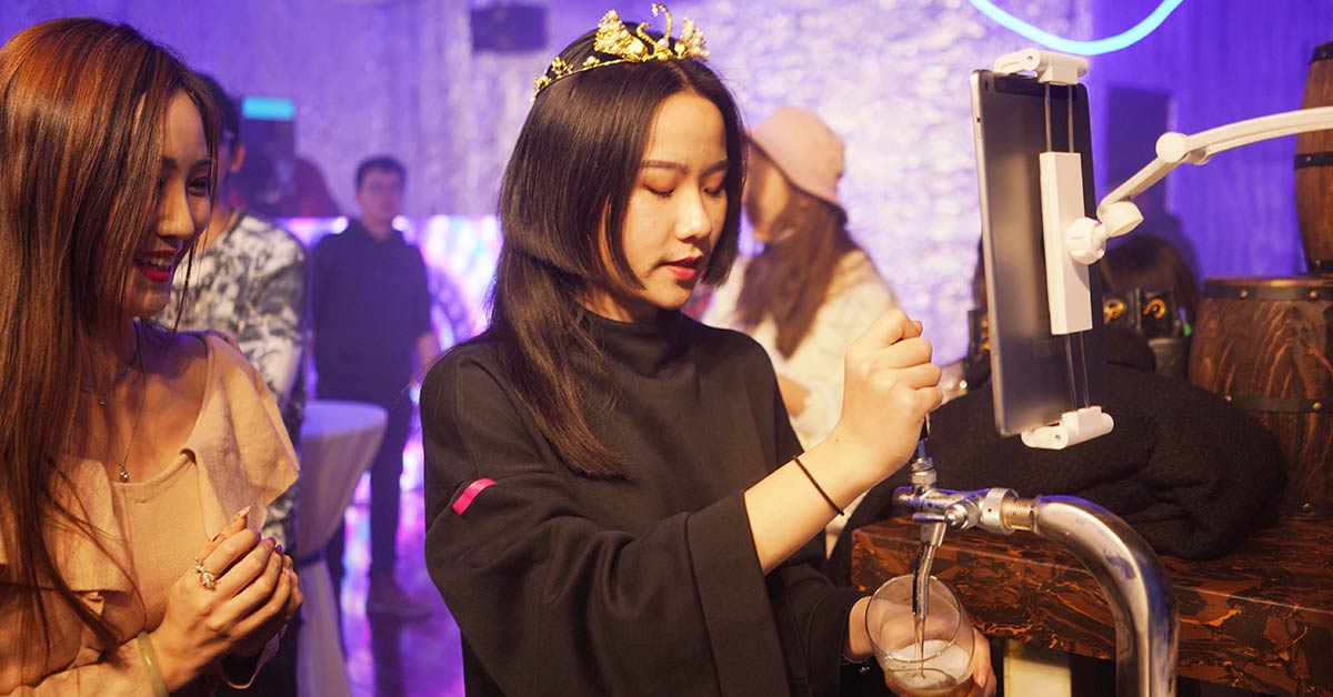 Harbin Beer Gives Teen Lifetime Supply of Beer for Her 18th Birthday
