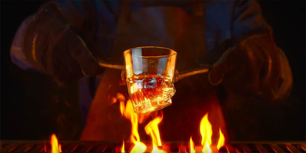 Burger King Creates 1.5 Million 'Flamed Grilled' Glasses for Campaign in France