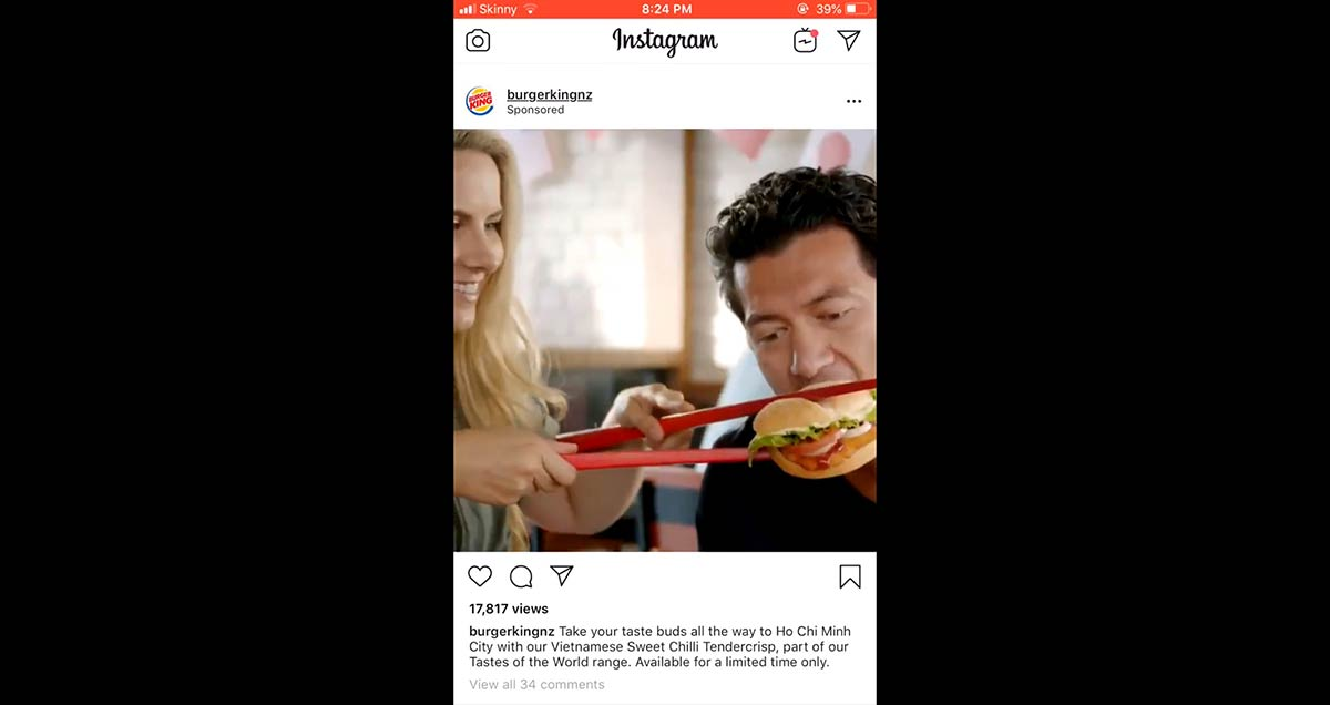 Burger King Issues Apology for 'Racist' Chopstick Ad – 'It Doesn't Reflect Our Brand Values'