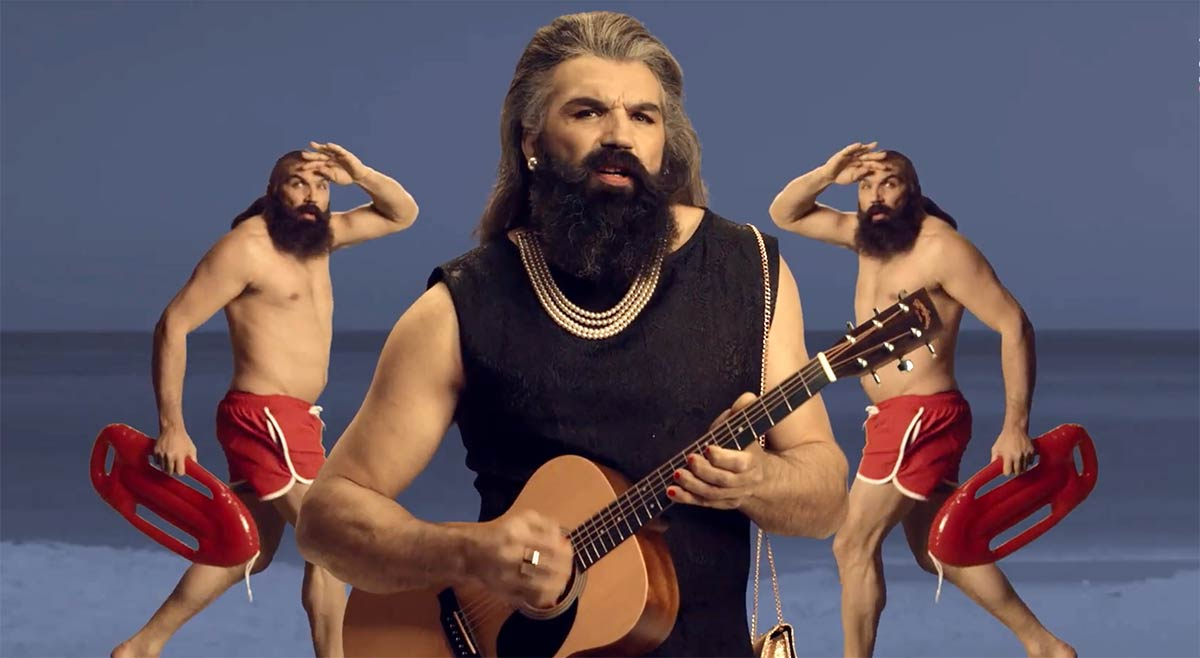 Rugby Great Sebastien Chabal In Drag For Marriott S Funny Hong Kong Sevens Campaign Branding In Asia Magazine