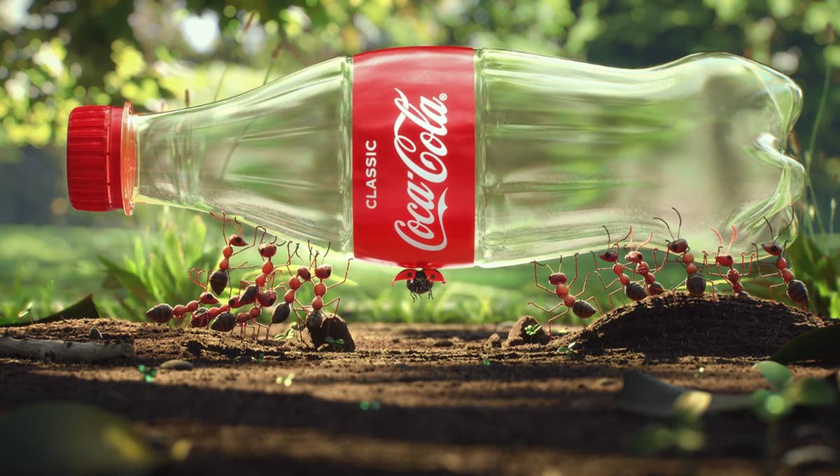 The Insects Are Recycling in New Coke Ad – It's the Least You Could do to Pitch in, Too