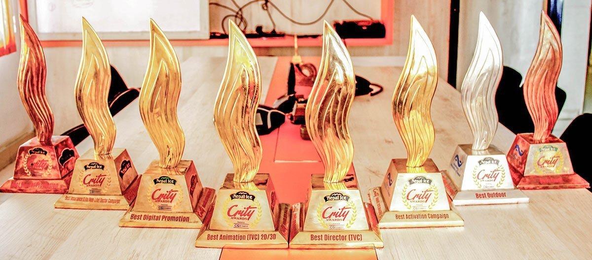 Group Outreach Wins 8 Crity Awards in Kathmandu
