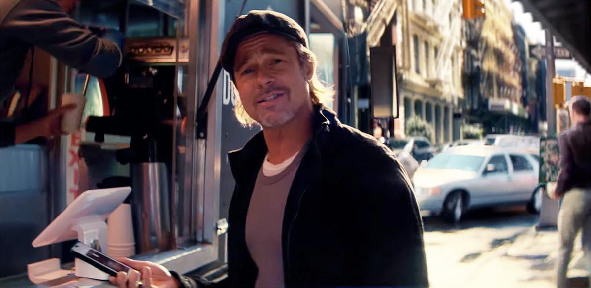 Brad Pitt is Speechless in New Ad for Boursorama Banque in France