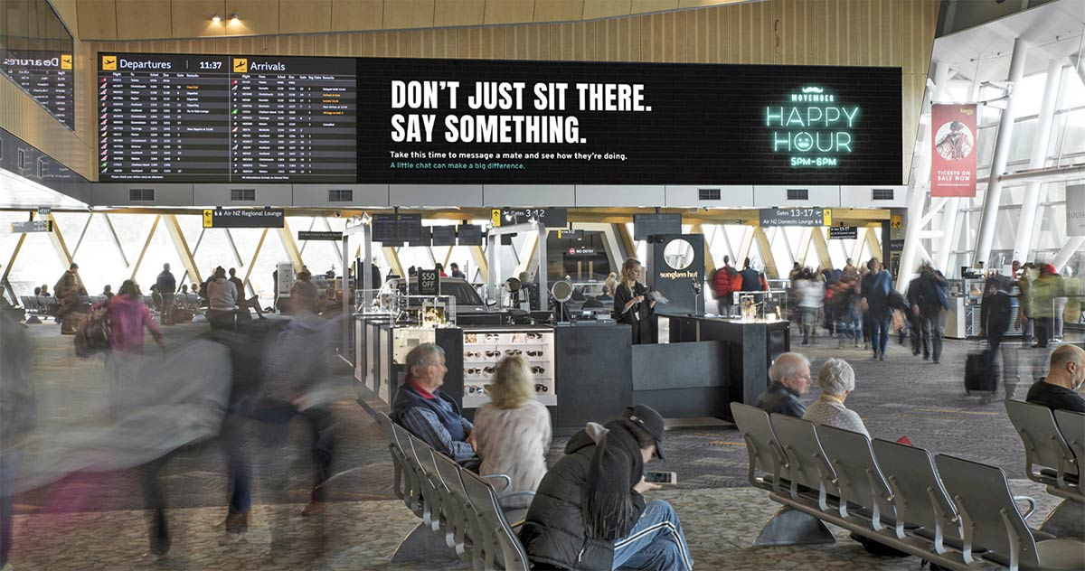 The Movember Foundation and Dentsu Launch 'Happy Hour' Campaign in New Zealand