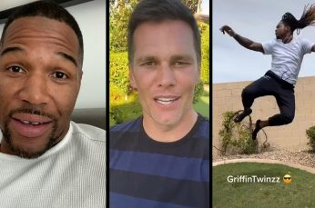 Over 50 NFL Players, Coaches and Former Stars Film Life at Home During the Coronavirus