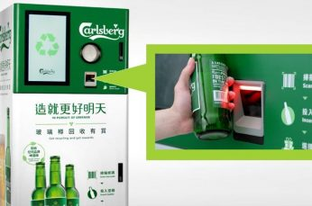 Carlsberg Launches Reward-Giving Recycling Vending Machine in Hong Kong