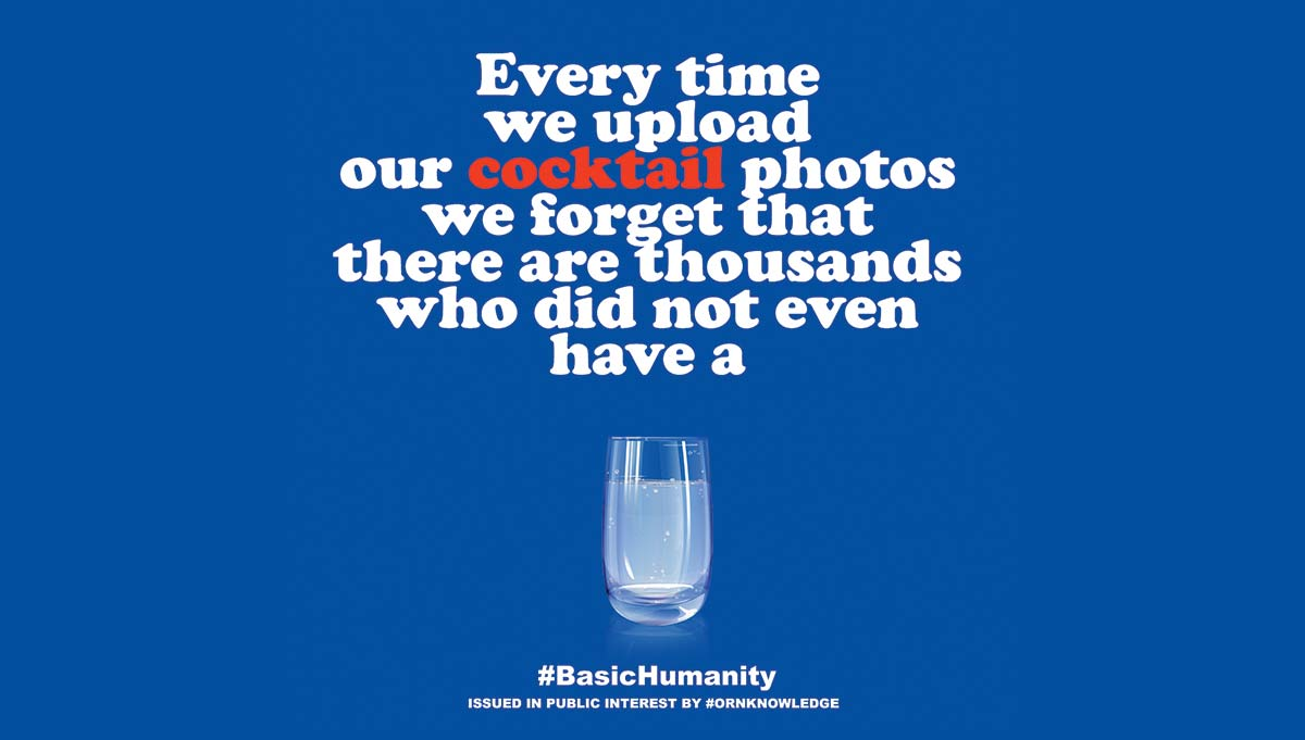 When We Upload Food Photos We Forget Those Who Are Not So Fortunate – #BasicHumanity