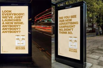 TBWA Launches Hilarious Outdoor Campaign for Hun Wine That No One Will See
