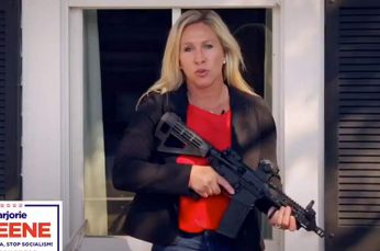 Facebook Pulls Ad With Candidate Holding Gun Warning ANTIFA to 'Stay the Hell Out' of Georgia