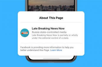 Facebook Starts Labeling 'State-Controlled Media' Content and Will Block Their Ads in the U.S.