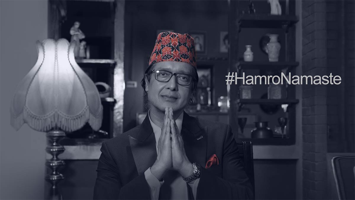 Unilever and Unicef Partner with Rajesh Hamal to Welcome Home Nepali Citizens