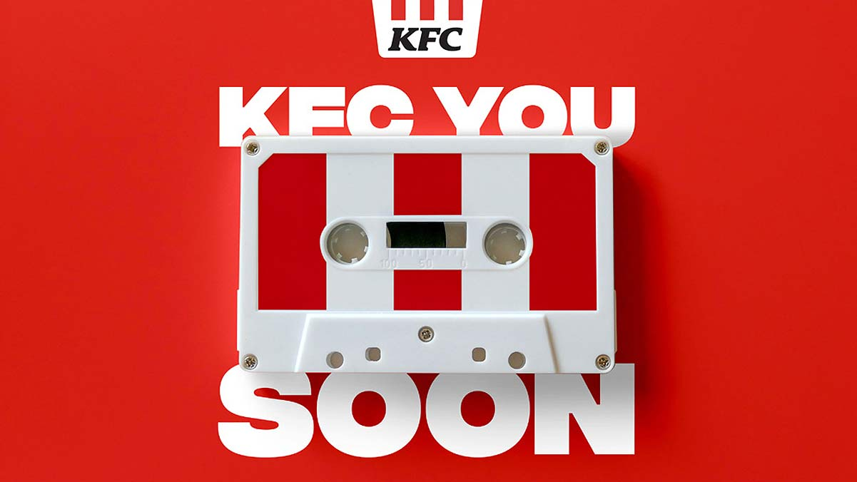 KFC Makes a Mixtape With 86 Songs Welcoming Customers Back in Malaysia