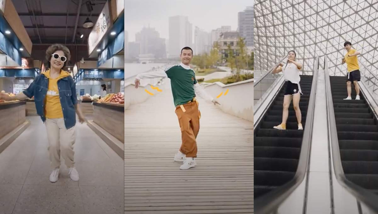 Adidas Neo & Gudetama Combine for Douyin Dance Challenge Campaign in China