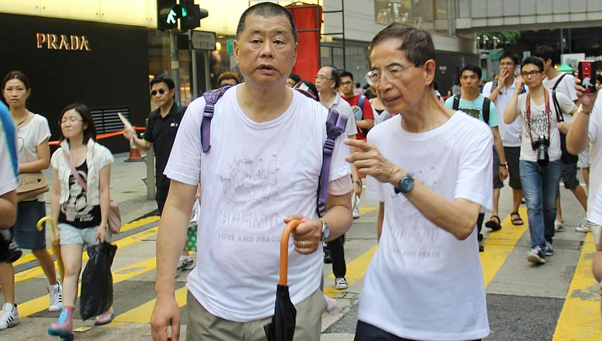 Hong Kong Publisher Jimmy Lai Arrested for 'Colluding With Foreign Powers'