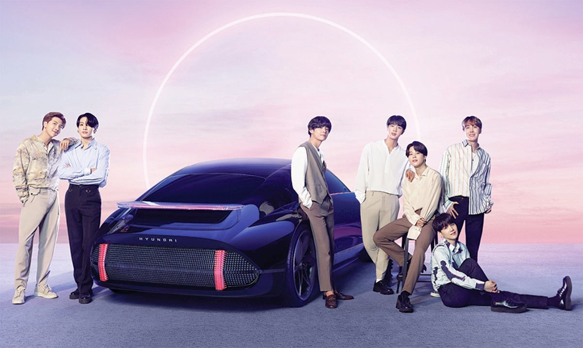 BTS Releases New Song in Collaboration with Hyundai – 'IONIQ: I'm On It'