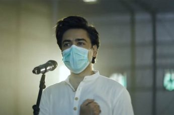 Shehzad Roy Sings Pakistan's National Anthem Through Face Mask for Unilever Campaign