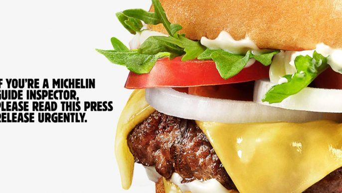 Burger King Calls on Michelin Guide to Give the Master Burger its Due