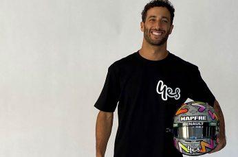 Formula 1 Driver Daniel Ricciardo Partners With Optus in Australia
