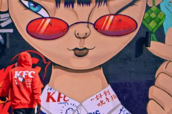 KFC Taps Street Artist Kenji Chai to Create Specials Murals on KFC in Malaysia
