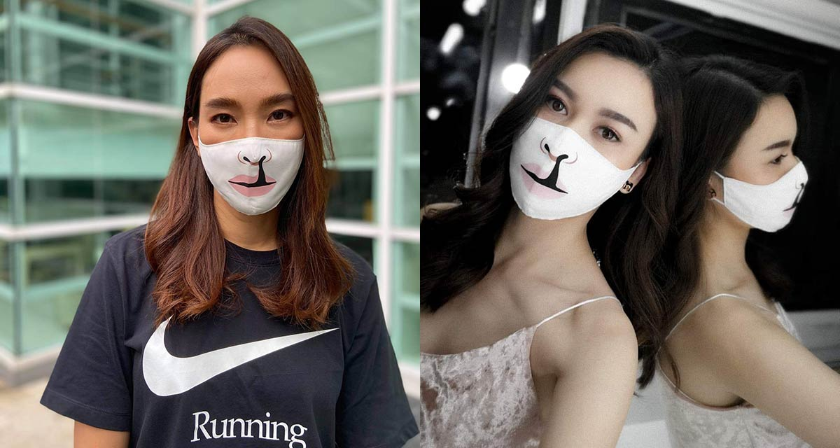 Thai Celebrities Join 'Masks for Smiles' Campaign in Thailand