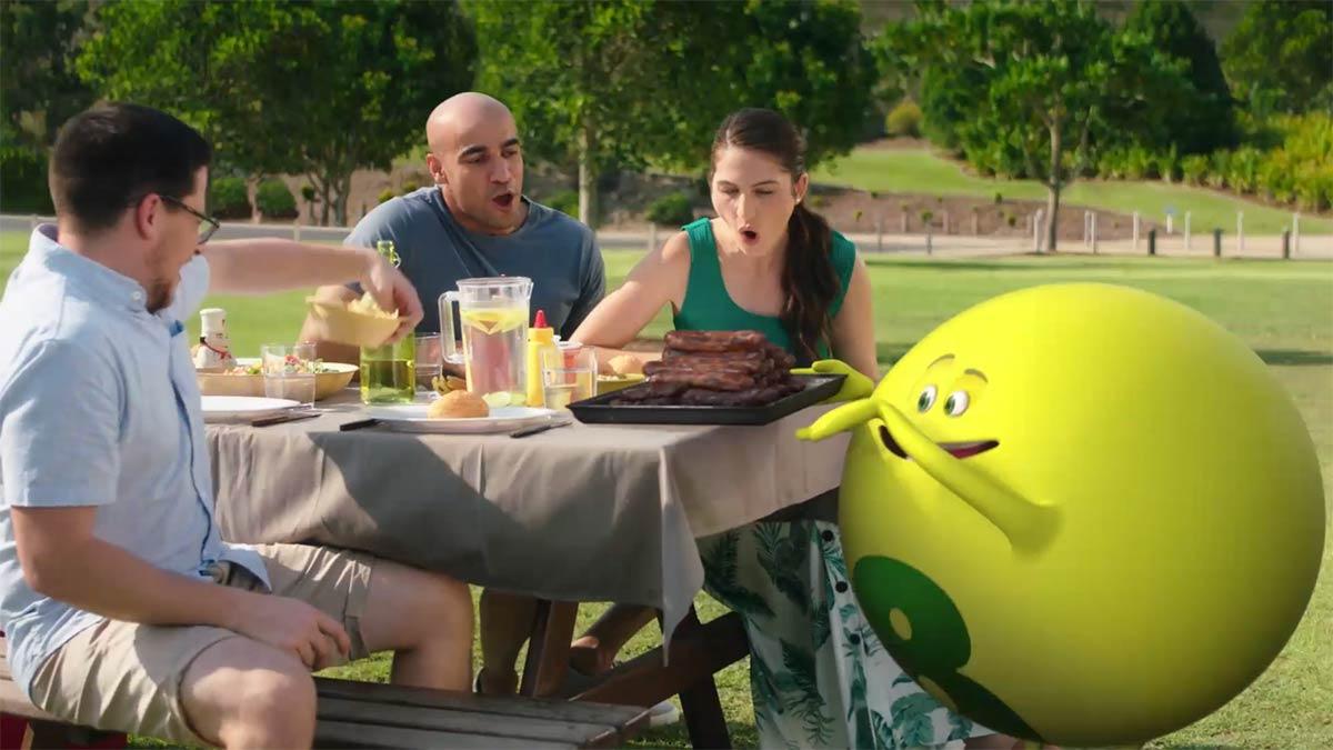 'Oz' the Lottery Ball Stars in New Lottoa Campaign in Australia