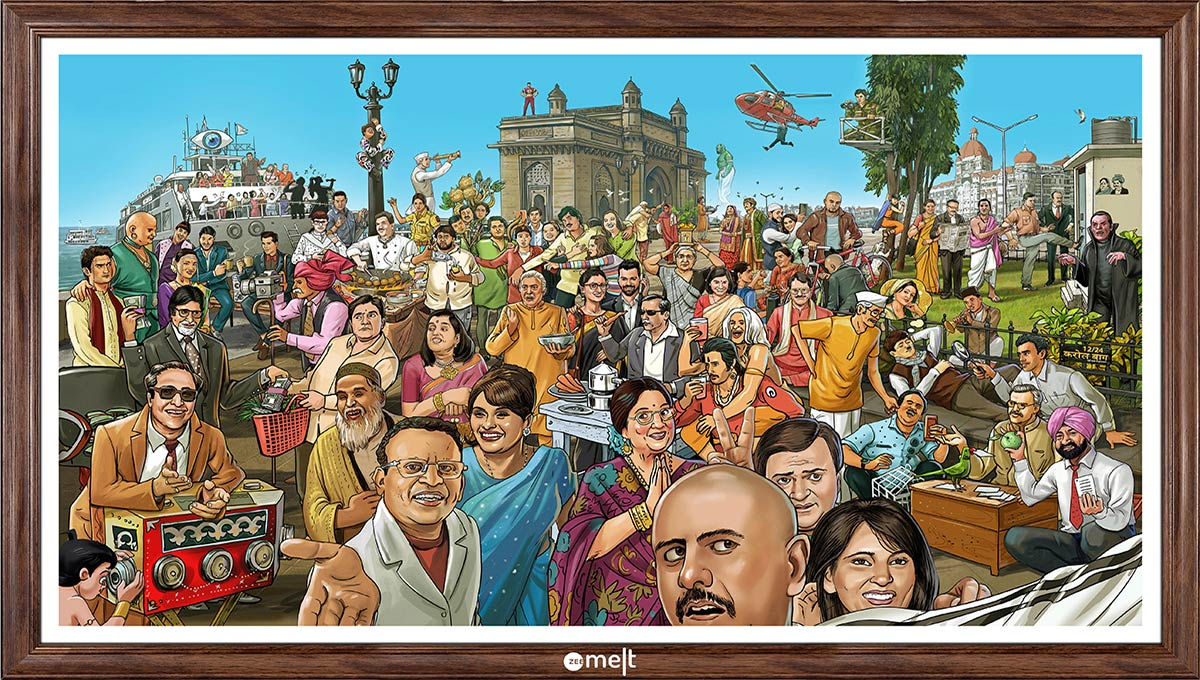 BBDO India and ZeeMELT Pay Tribute to India's Memorable TV Shows with Interactive Poster