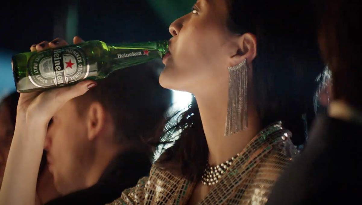 Heineken Pokes Fun at Gender Drinking Stereotypes